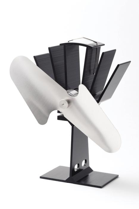 【メーカー直送・大感謝価格】薪ストーブ オプション ストーブファン SF-800N W13.6cm×H21.3cm×D12.0cm 羽の長さ20.5cm