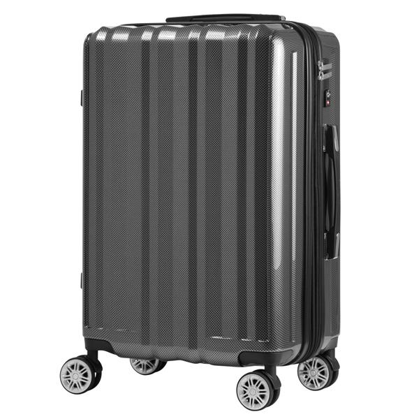 【メーカー直送・大感謝価格 】軽くて丈夫なPC+ABSボディ鏡面仕上げスーツケース 5102-49 カーボン/ホワイトカーボン/レッド/ネイビー/グリーン LEGEND WALKER HARD CASE