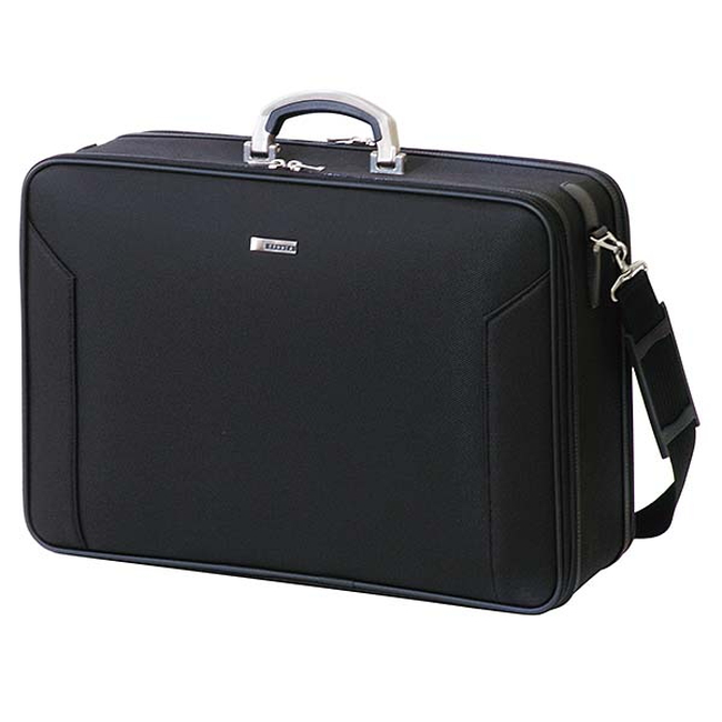 【メーカー直送・大感謝価格】バジェックス オリジン BX ORIGIN 24-0311 アタッシュケース(サブルーム付き) W49×H34×D10cm ブラック 日本製