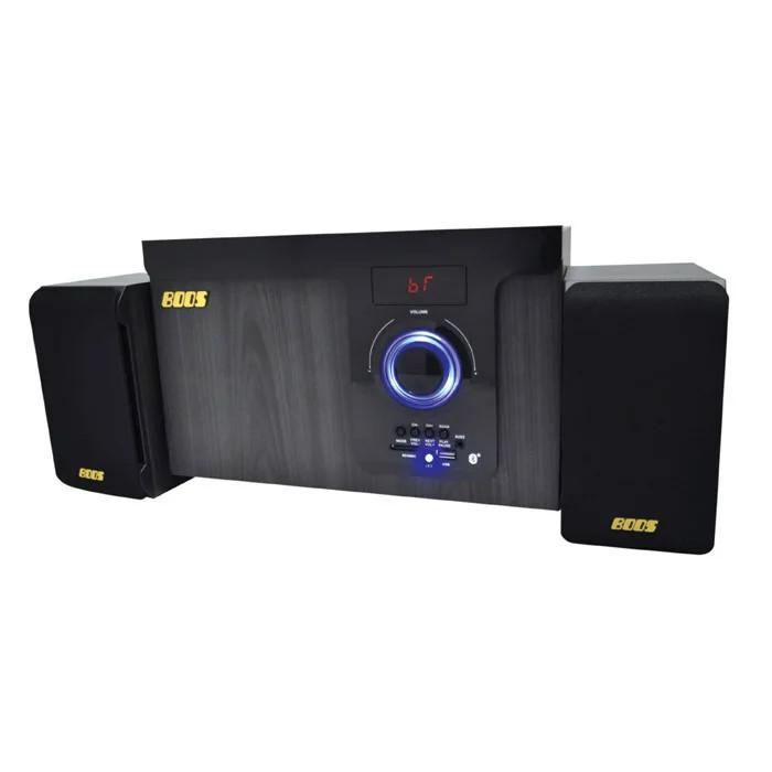 【メーカー直送・大感謝価格】HNB-PWR4000 2.1ch Bluetooth 高音質スピーカー BK/WO ブラック/ホワイト・オーク AC100V/50/60Hz