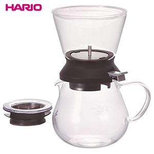 【2個セット】【大感謝価格】HARIO(ハリオ) ティードリッパーラルゴ35 サーバーセット TDR-5012B 耐熱ガラス