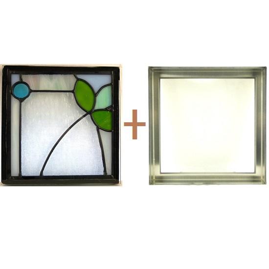 ステンド グラス ステンドグラス ガラス 三層パネル窓ドア枠セットsgsq228f(取寄品、別途送料必ず発生、割引不可、キャンセル返品不可、突然終了あり)