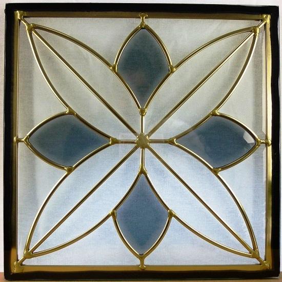 ステンド グラス ステンドグラス ステンドガラス デザインパネル300角sgsq308(取寄品、割引不可、キャンセル返品不可、突然終了あり)