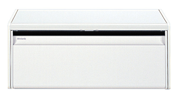 『ブラバンシア パンケース ブレッドビン フォールフロント ホワイト』返品キャンセル不可品 湿気や乾燥を防ぎ、オシャレに収納