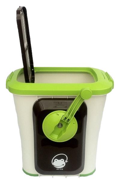 『自然にカエルS(基本セット)』送料無料『メーカー直送品。代引不可・同梱不可・返品キャンセル・割引不可』 CO2削減 カエル 有機肥料 分解