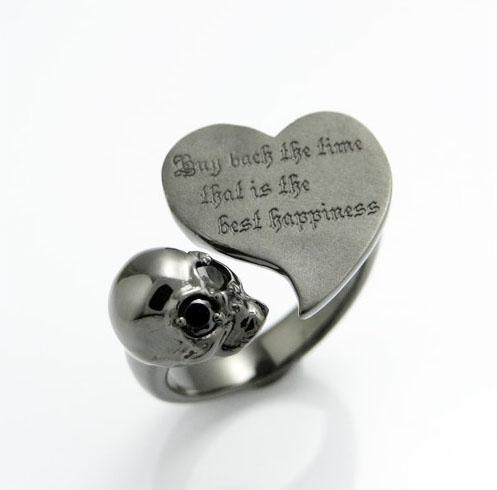 送料無料『ヴァーチュー リング KR-241 BK 』リング 指輪 アクセサリー ファッション