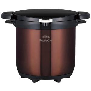 大感謝価格『サーモスシャトルシェフKBG-4500-CBW』送料無料(、突然の欠品終了あり)生活家電 エコ 節約 時短料理 保温調理鍋