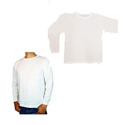 『京都西陣yoroiシリーズ safety & cool Tシャツ(長袖) オフホワイト』送料無料(割引不可)