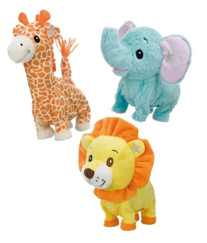 【大感謝価格】ポケットアニマル ×同種類12個セット ライオン/ゾウ/キリン