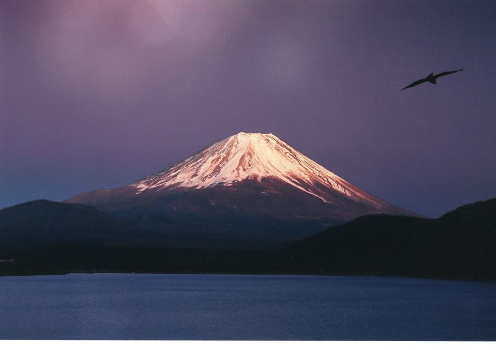 【大感謝価格 】奇跡の写真 秋元隆良『霊峰の奇跡)』