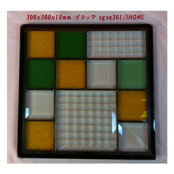 ステンド グラス ステンドグラス ステンドガラス デザインパネル300角sgsq301(取寄品、割引不可、キャンセル返品不可、突然終了あり)