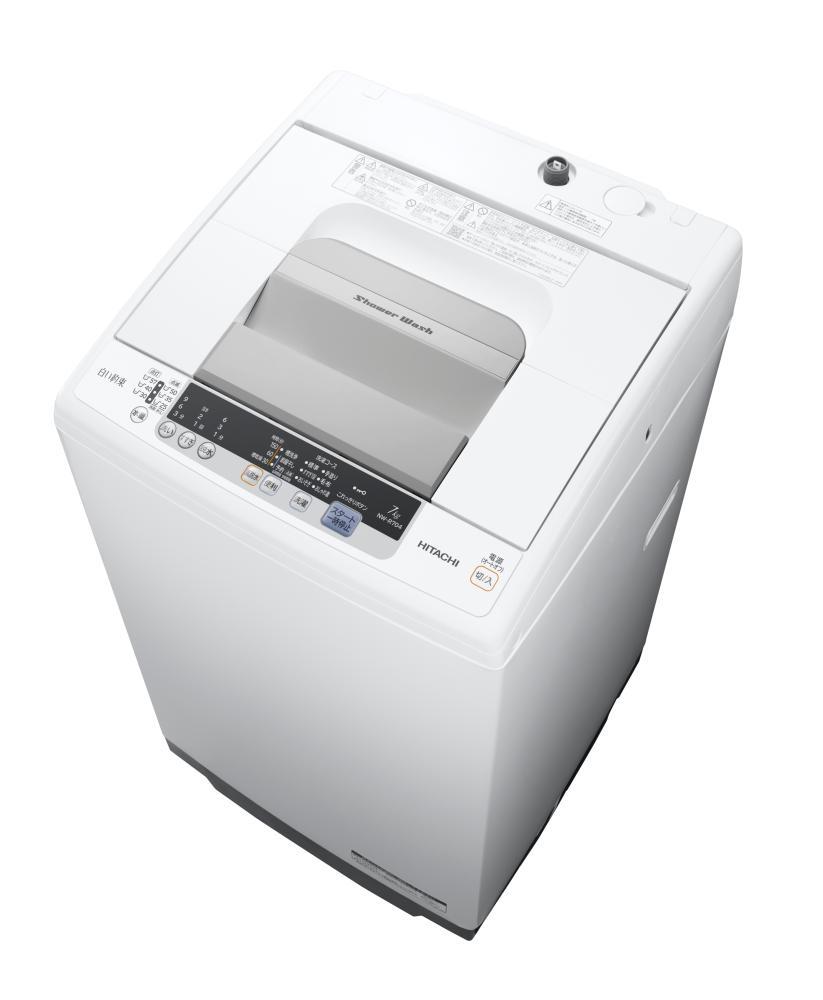【メーカー直送・大感謝価格】HITACHI 日立 全自動洗濯機 7.0kg NW-R704-W 白い約束 ホワイト