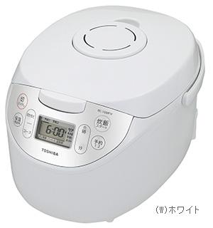 【メーカー直送・大感謝価格】TOSHIBA 東芝 マイコンジャー炊飯器(1升炊き)RC-18MFH-W ホワイト