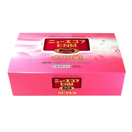 『ニューエコフENMスーパー 30包』5個で梱包時に1個多く入れますEC-12菌 乳酸菌 サプリメント 健康食品 エンザミン配合 ニューエコフENMスーパー 30包yyMay15_point20