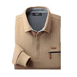 【メーカー直送・大感謝価格 】Pierucci ピエルッチ ジップアップニットシャツ3色組 AO-0028