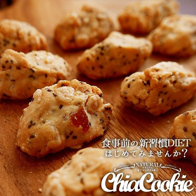 食物繊維 有機チアシード 玄米フレーク ご予約品 健康食品 大感謝価格 ナチュラルチアクッキー x 新作 3種500g 100g 9-18営業日前後で出荷 5