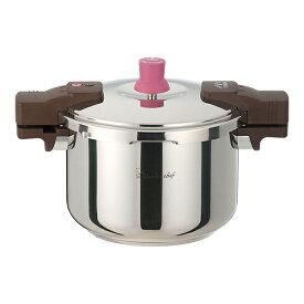 大感謝価格 『ワンダーシェフ あなたと私の圧力魔法鍋両手5.5L ZADA55』キッチンブランド 圧力鍋 調理器具 ワンダーシェフ あなたと私の圧力魔法鍋両手5.5L ZADA55送料無料