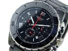コグ COGU クロノグラフ メンズ 腕時計 CRM2-BBK(割引不可、取り寄せ品キャンセル返品不可、突然終了欠品あり)