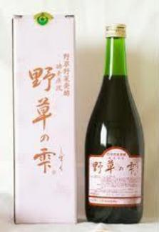 日本産 健康食品 酵素 ジュースドリンク お中元 しずく やそう 4560310294149 野草の雫 720ml 送料無料 5個購入で1個多くおまけ