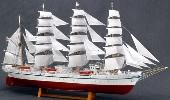 大感謝価格『木製帆船模型 1/160 日本丸 (帆付き・帆走)』『メーカー直送品。代引不可・同梱不可・返品キャンセル・割引不可、1人1個限り』