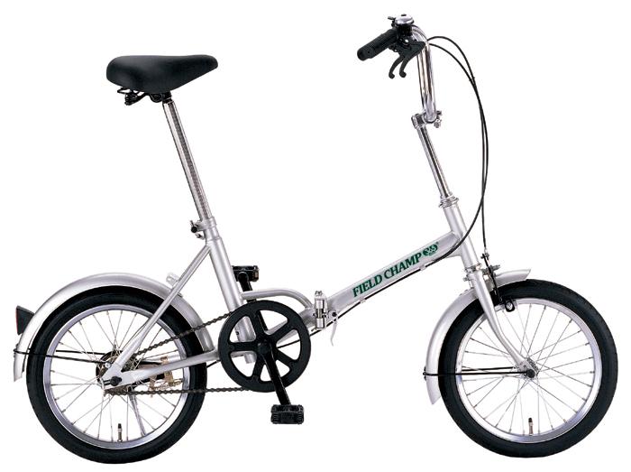 『FIELDCHAMP365 FDB16/16インチ折畳自転車 シルバー』メーカー直送品。代引不可・同梱不可・返品キャンセル・割引不可(北海道・沖縄・離島は別途送料発生)アウトドア 自転車『FIELDCHAMP365 FDB16/16インチ折畳自転車 シルバー』