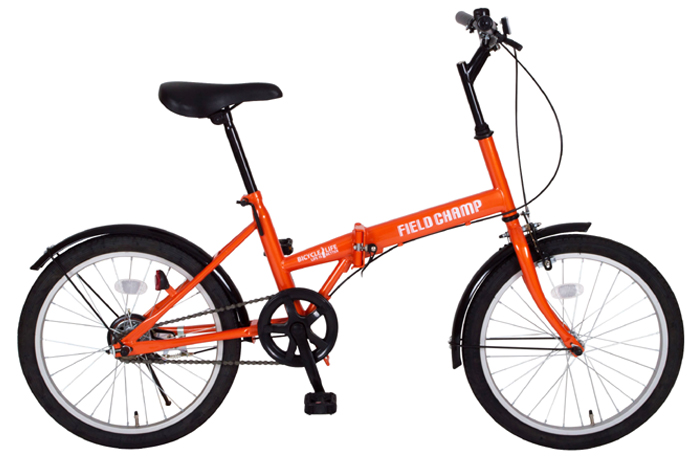 『FIELDCHAMP(フィールドチャンプ)FDB20/20インチ折畳自転車 オレンジ』メーカー直送品。代引不可・同梱不可・返品キャンセル・割引不可(北海道・沖縄・離島は別途送料発生)アウトドア 自転車『FIELDCHAMP(フィールドチャンプ)FDB20/20インチ折畳自転車』P11Sep16