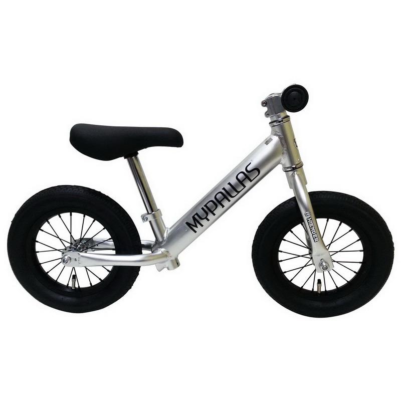 【大感謝価格 】マイパラス 子供用ランニングバイク スーパーハイエンダー シルバー MC-SH-SV