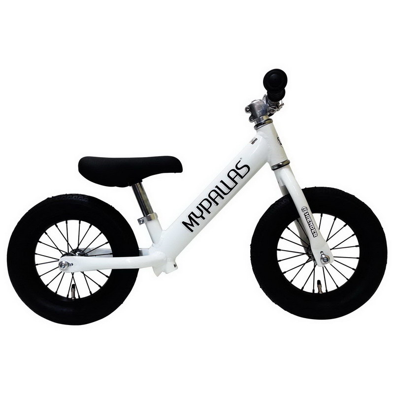 【大感謝価格 】マイパラス 子供用ランニングバイク スーパーハイエンダー ホワイト MC-SH-WH