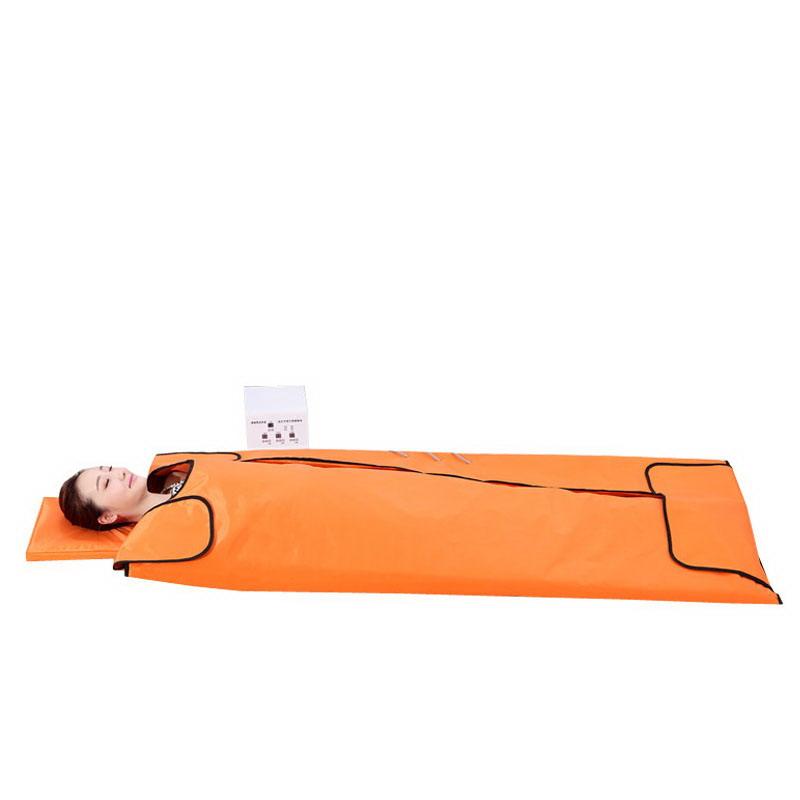 【メーカー直送品】【大感謝価格】遠赤外線寝袋サウナ S-104 三つ折り ジェイド石 ゲルマニウムあり