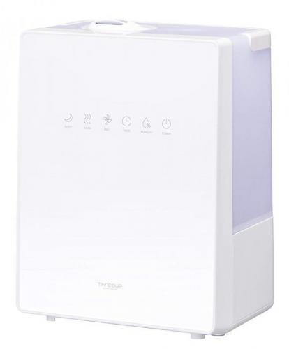 【大感謝価格 】ハイブリッド加湿器 NEWスクエアミスト 湿度コントロール機能付 ホワイト HB-T1825WH