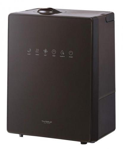 【大感謝価格】ハイブリッド加湿器 NEWスクエアミスト 湿度コントロール機能付 ブラウン HB-T1825BR
