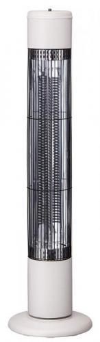 【大感謝価格 】タワーカーボンヒーター ノッポ アイボリー CB-T1831IV