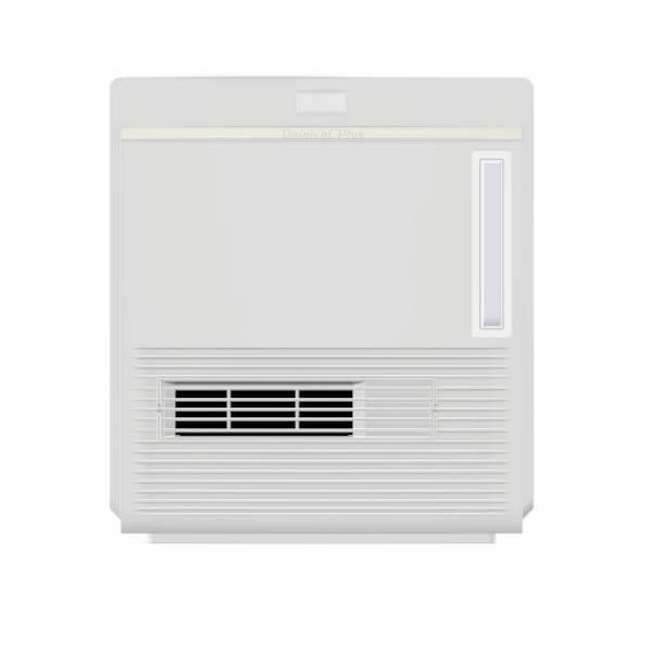 【大感謝価格】ダイニチ 加湿セラミック ファンヒーター ホワイト EFH-1217D-W