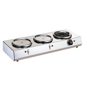 大感謝価格『カリタ 3連ハイウォーマー』キッチン用品 業務用 厨房機器 コーヒーウォーマー『カリタ 3連ハイウォーマー』