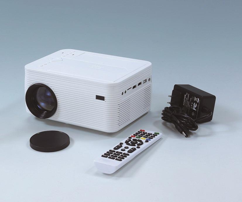 【大感謝価格】DVDプレーヤー一体型 コンパクトプロジェクター