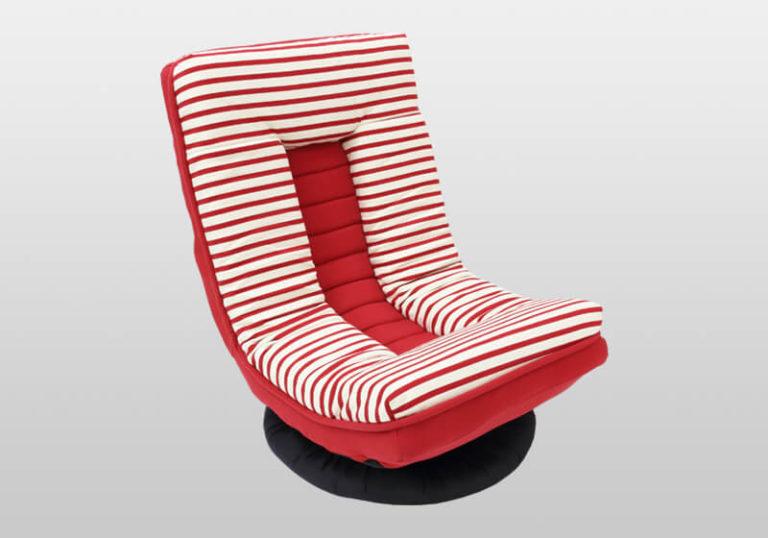【メーカー直送】【大感謝価格 】イナダ商事 回転椅子 アイロチェアRD レッド IAC-LCA-23