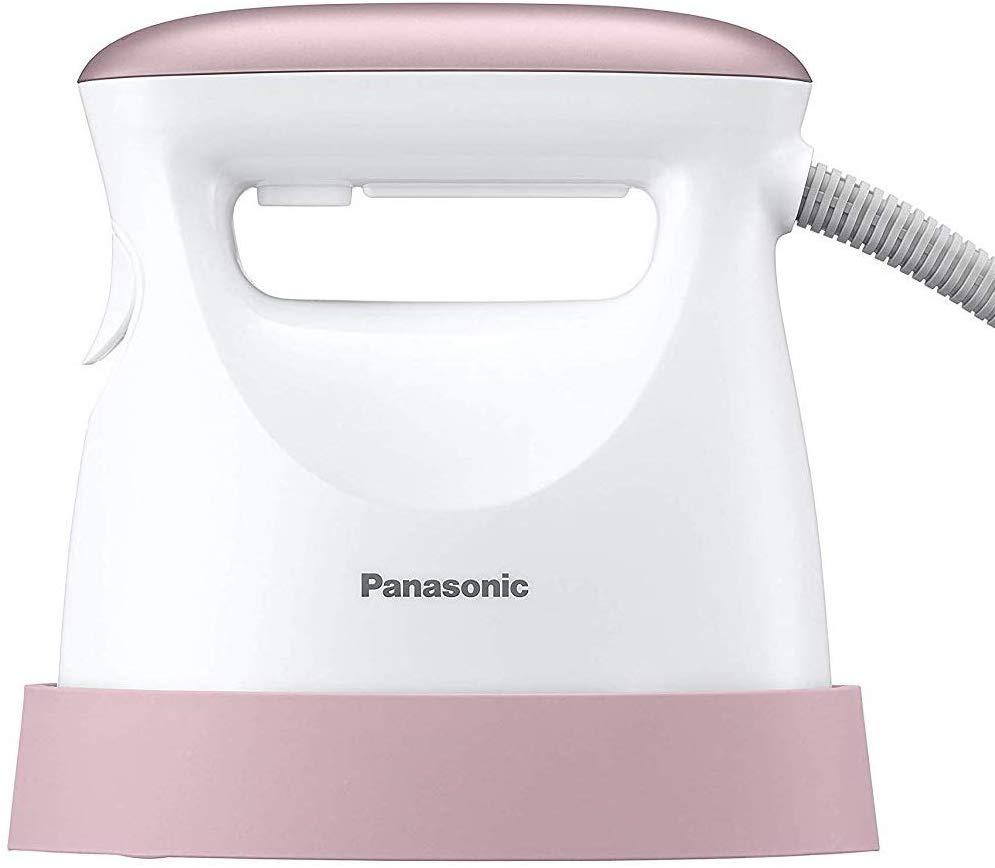 【大感謝価格 】Panasonic パナソニック 衣類スチーマー スチームアイロン ペールピンク調 NI-FS550-PP