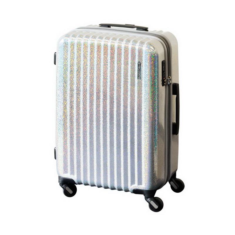 【大感謝価格 】FREQUENTER Reflect フリクエンター リフレクト スーツケース ストッパー付き4輪 58cm 1-310 パールシルバー