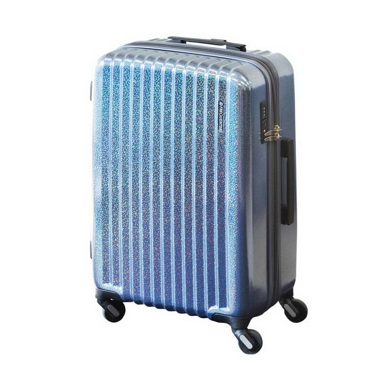 【大感謝価格 】FREQUENTER Reflect フリクエンター リフレクト スーツケース ストッパー付き4輪 58cm 1-310 パールブルー