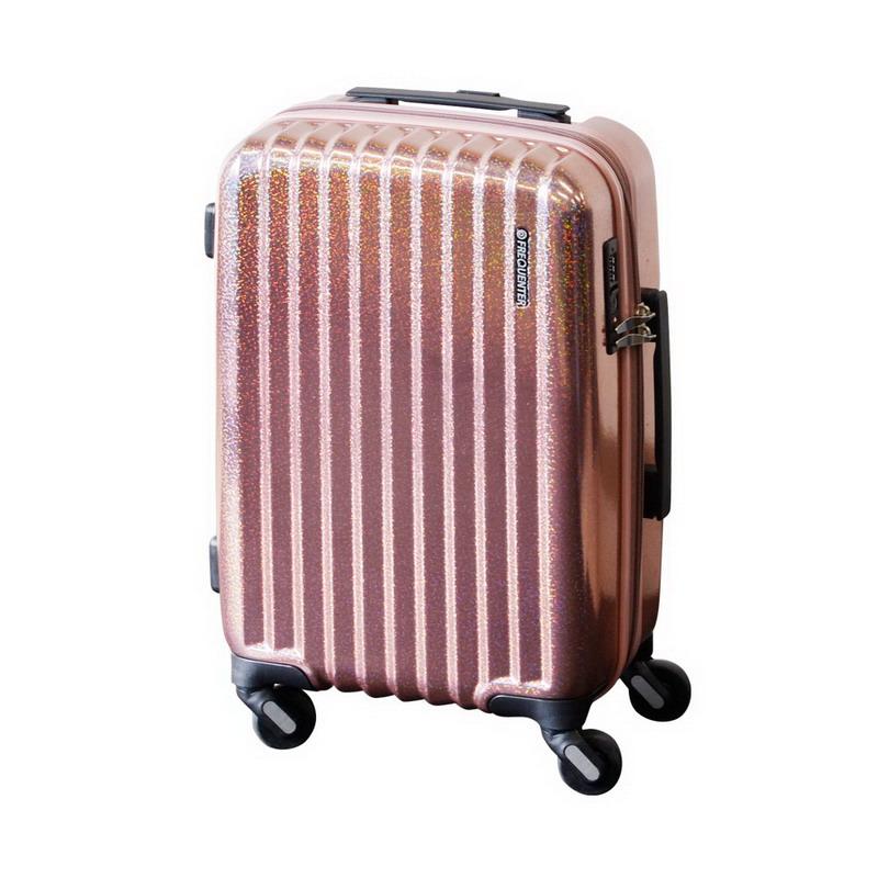 【大感謝価格 】FREQUENTER Reflect フリクエンター リフレクト スーツケース ストッパー付き4輪 48cm 1-311 パールピンク