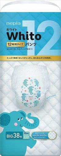 【ヘルシ価格】【6個セット】ネピアホワイトパンツBIGサイズ 12時間 38枚×6個セット