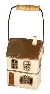 インテリア 小物 買収 置物 オブジェ 陶器製 可愛い 送料無料でお届けします キャンドルハウス ヘルシ価格 東洋石創 House 29296 Candle