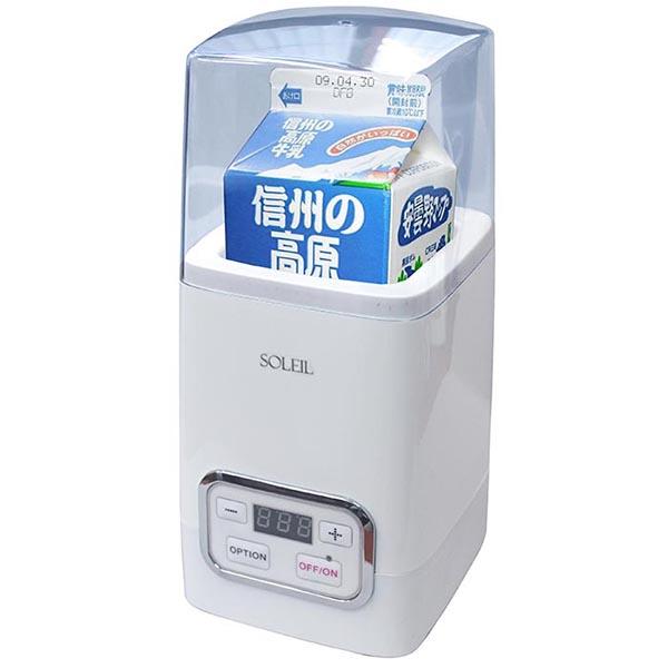 """在""""菌活美人優格廠商SL-50""""(折扣服務對象外)市場出售的牛奶包保持原樣的安排簡單地漂亮的廚房家電優格廠商""""菌活美人優格廠商SL-50"""""""