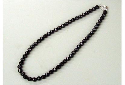 『備長炭ネックレス K8910』(割引不可)アクセサリー 紀州備長炭 イオン 遠赤『備長炭ネックレス K8910』