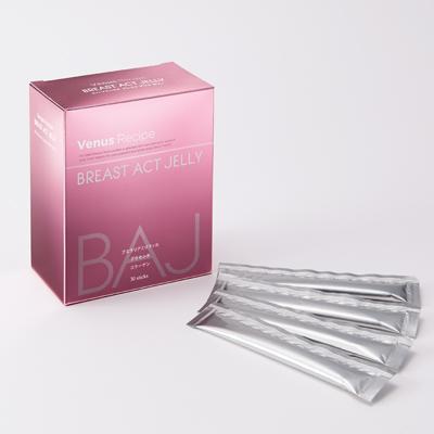 【大感謝価格 】アクシージア ヴィーナスレシピ ブレストアクトゼリー 10g×30包