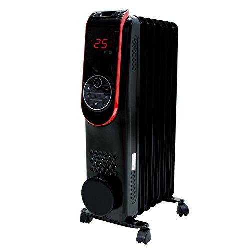 【メーカー直送・大感謝価格 】イーバランス ROOMMATE LED液晶パネル搭載オイルヒーター HC-A31A