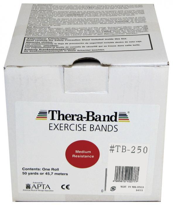 大感謝価格『セラバンド 50ヤード #TB-250 レッド』健康 ダイエット エクササイズ用品 スポーツ器具 トレーニング フィットネス 伸縮自在 ラバーチューブ『セラバンド 50ヤード #TB-250 レッド』
