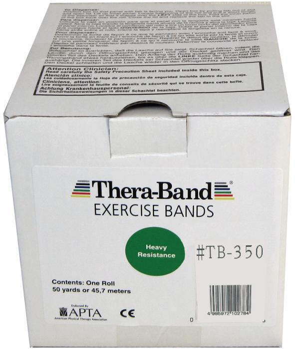 大感謝価格『セラバンド 50ヤード #TB-350 グリーン』健康 ダイエット エクササイズ用品 スポーツ器具 トレーニング フィットネス 伸縮自在 ラバーチューブ『セラバンド 50ヤード #TB-350 グリーン』