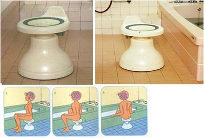 【大感謝価格 】浴室用回転便利椅子 No.1