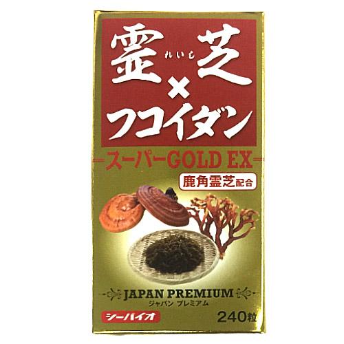 【大感謝価格 】霊芝×フコイダン スーパーゴールドEX 60g